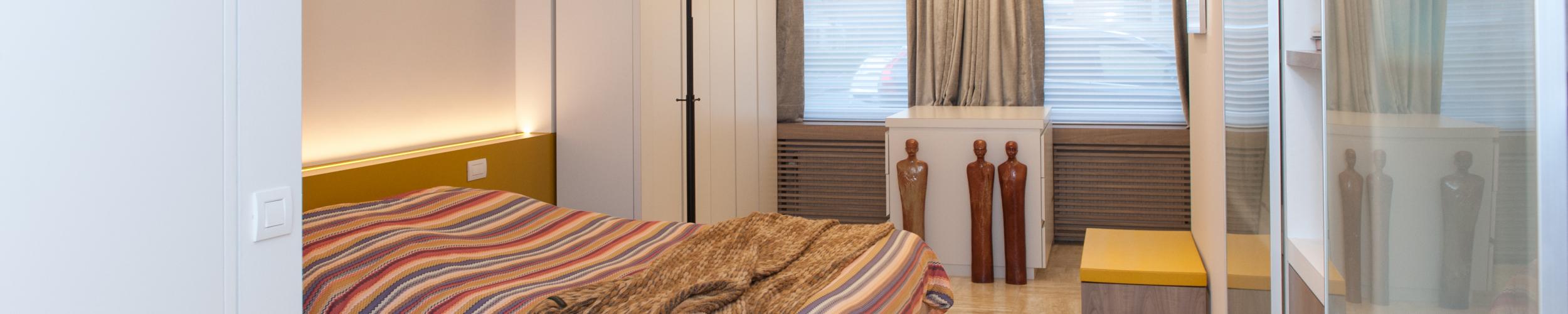 Inrichting woon- en slaapkamer op maat